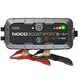 NOCO Boost Sport GB20 500A 12V UltraSafe Starthilfe Powerbank, Tragbare Auto Batterie Booster,...